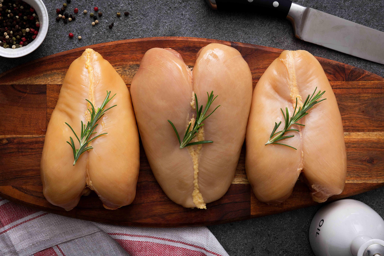 Petto di pollo giallo - Alemas carni bianche toscane